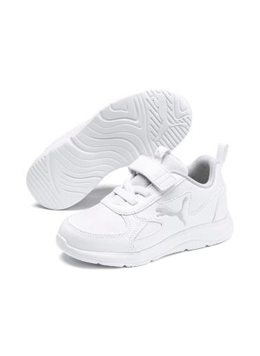 Puma Unisex Çocuk Beyaz Fun Sneakers 19362301 Beyaz